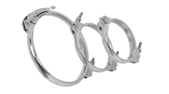 V-Clamp without Tension Band