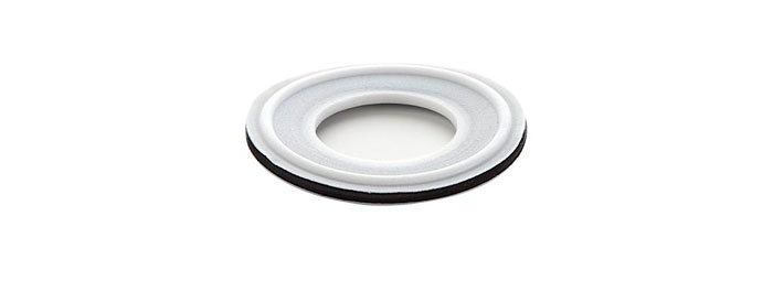 PTFE Gasket with FKM-Filler (without lip)